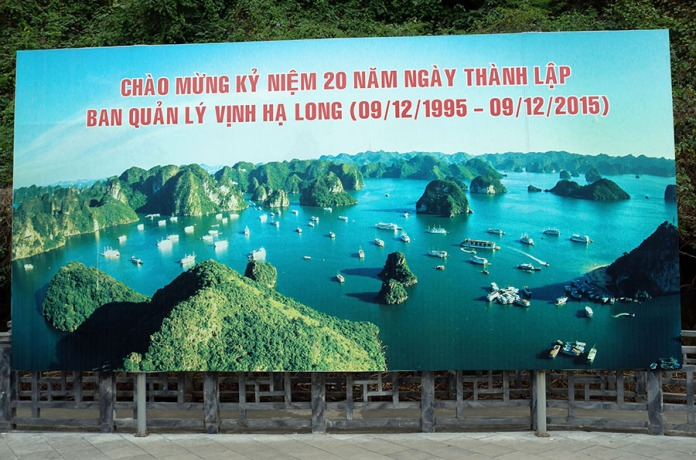 238 Sunny Ha Long Bay Poster