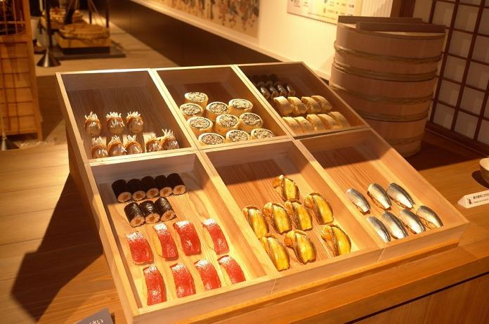 448 Sushi Vendor Cart